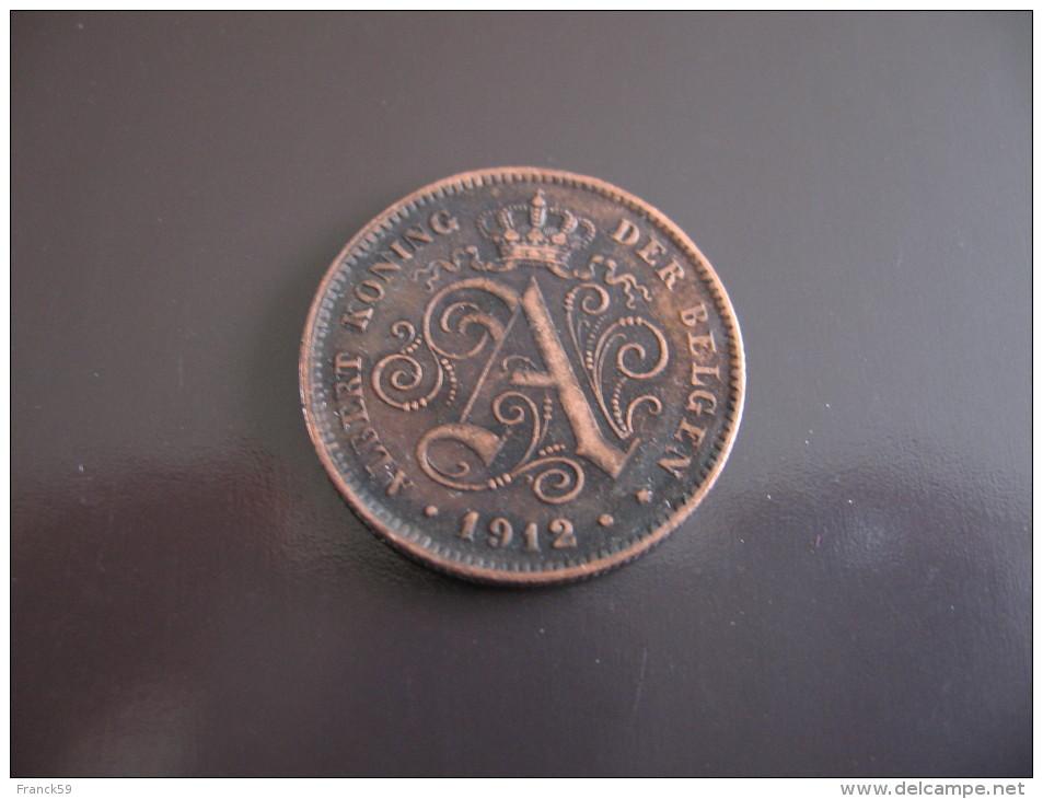 2 Centimes 1912 - Belgique - 02. 2 Centimes