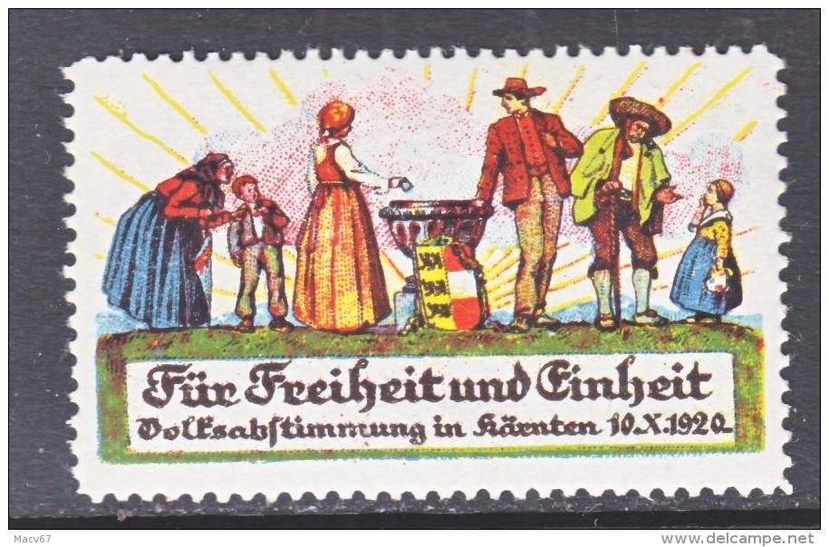 AUSTRIAN  FAIR  1920  ** - Austria