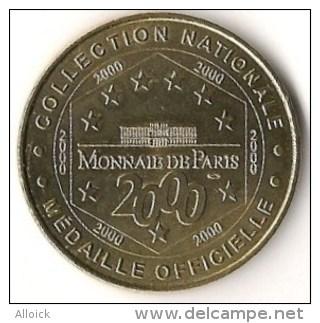 Médaille  Musée Des Plans-Reliefs   -  Fort   St Nicolas De Marseille  -   TTB   -  2000  -  Monnaie De Paris - 2005