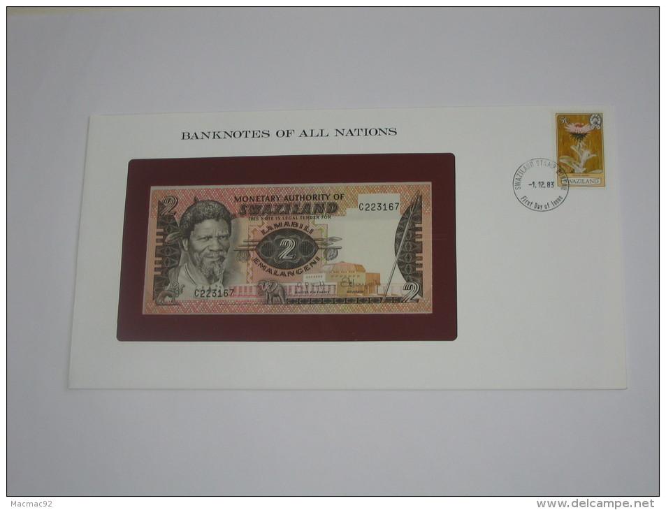 2 Emalangeni  - SWAZILAND - Monetary Authority Of Swaziland - Billet Neuf - UNC  !!! **** ACHAT IMMEDIAT *** - Swaziland