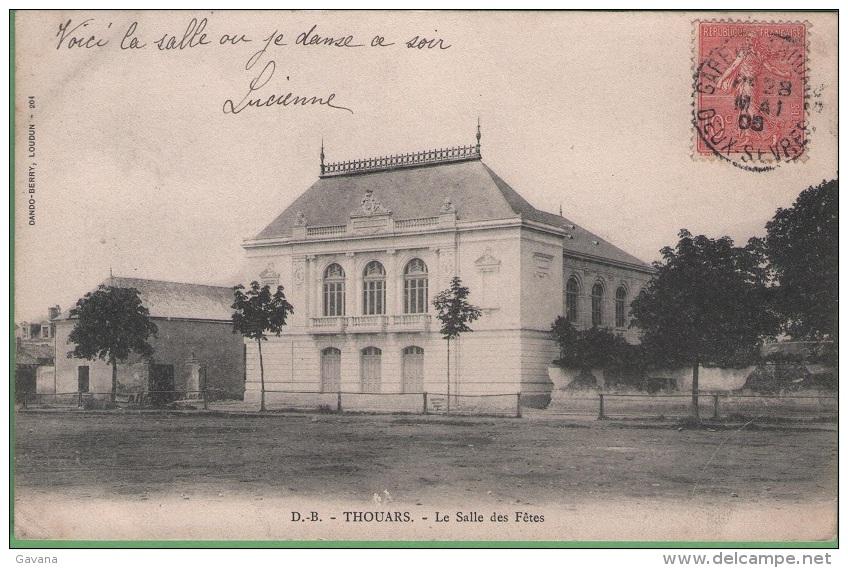 79 THOUARS - La Salle Des Fêtes - Thouars