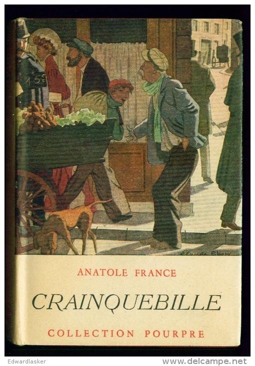 Collection POURPRE : Crainquebille //Anatole France - Février 1942 - Jaquette - Livres, BD, Revues