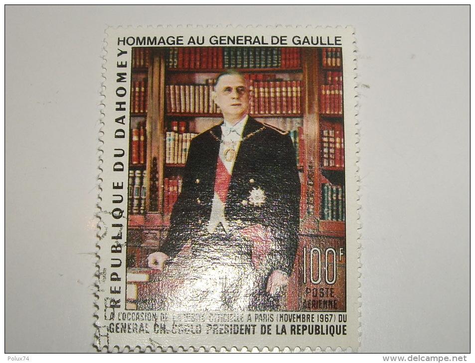 Dahomey General De Gaulle 100 Francs - Benin – Dahomey (1960-...)