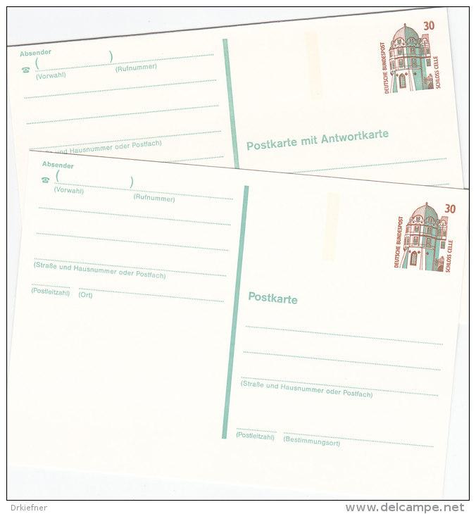 BRD P 147 - 148 Postfrisch - Cartes Postales - Neuves