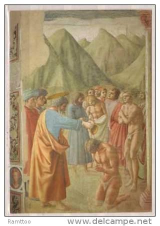 Firenze , Chiesa Del Carmine , Masaccio , Battesimo Dei Neofiti - Kirchen U. Kathedralen