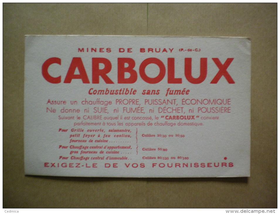 MINES DE BRUAY 62 CARBOLUX COMBUSTIBLE SANS FUMEE - M