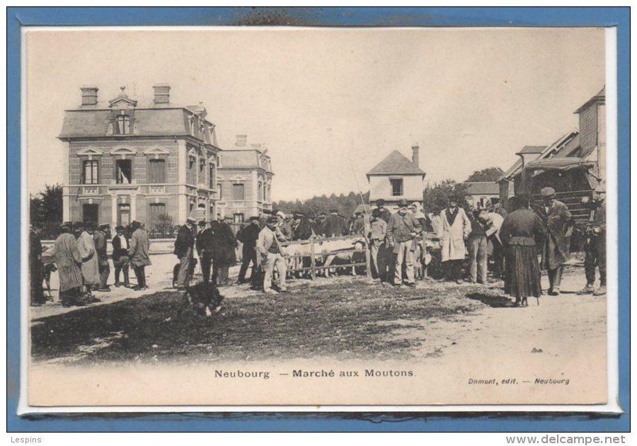 27 - Le NEUBOURG --  Marché Aux Moutons - Le Neubourg