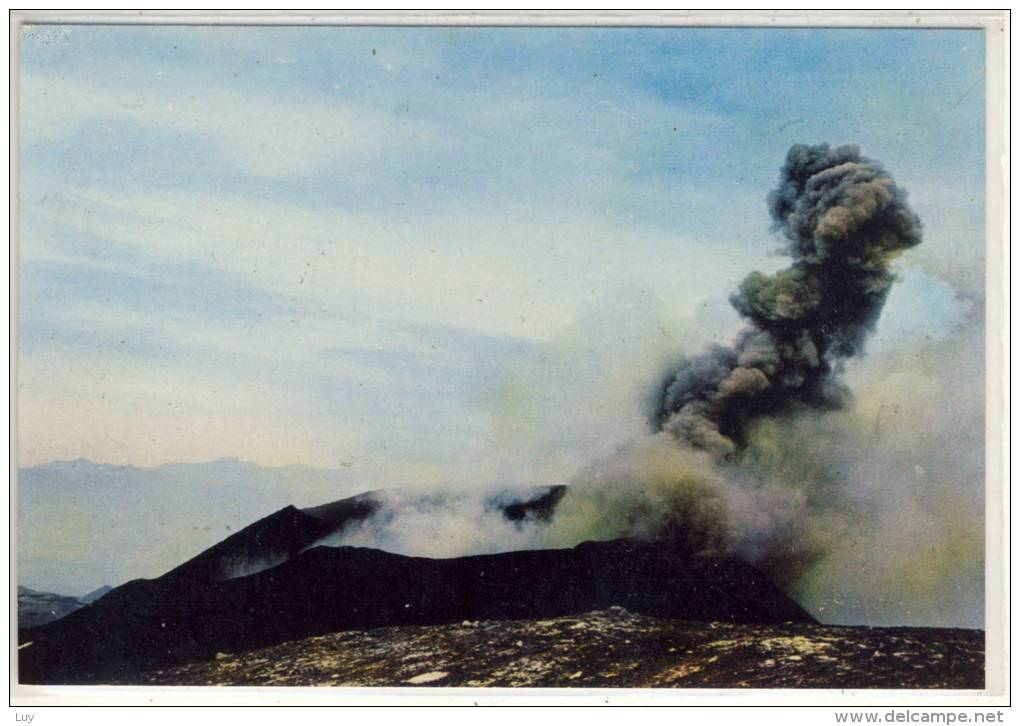 ETNA -  Vulcano / Vulcan / Volcano , Esplosione Di Cenere E Lapilli - Italia