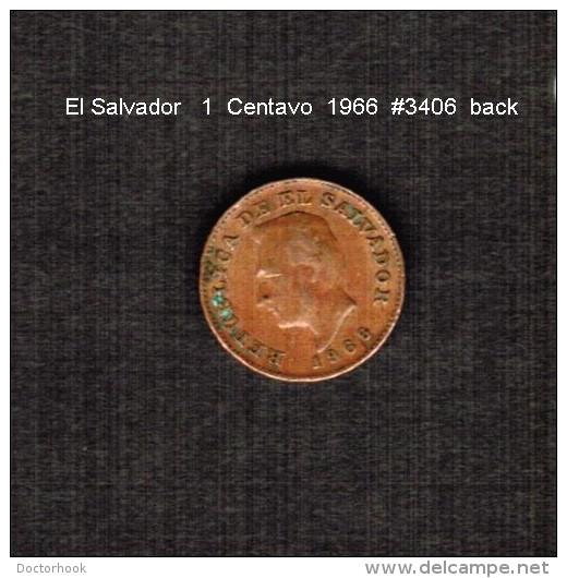 EL SALVADOR    1  CENTAVO   1966  (KM # 135.1) - Salvador