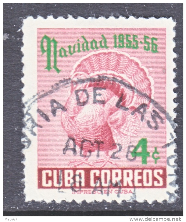 Cuba  548  (o)  CHRISTMAS  TURKEY - Cuba