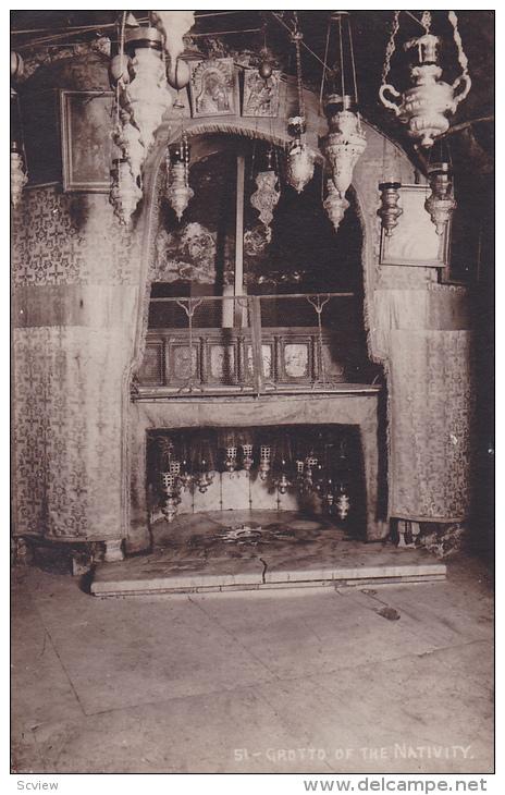 Grotto of the Nativity, Palestine, 00-10s