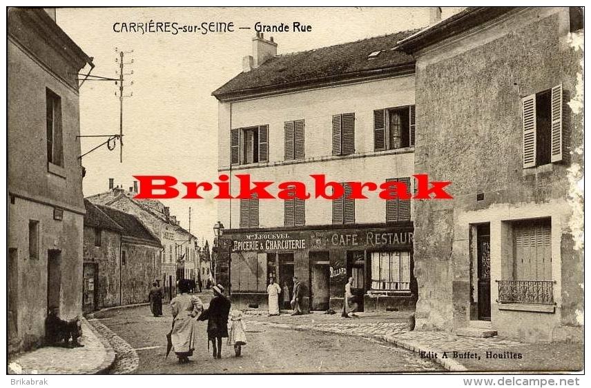 .Carte Postale CARRIERES SUR SEINE CARRIERES SAINT DENIS - Carrières-sur-Seine