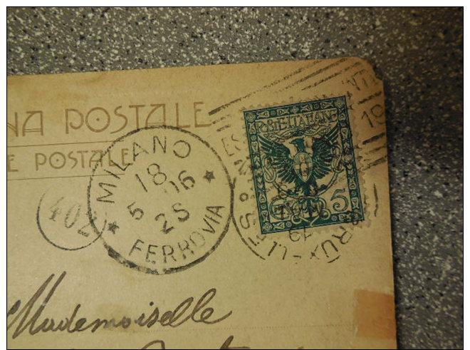 CARTE POSTALE MILAN ITALIE VERS BRUXELLES - 1906 - Belgium