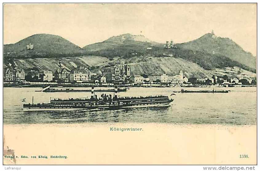 Allemagne -ref A606- Konigswinter   - Carte Bon Etat  - - Koenigswinter