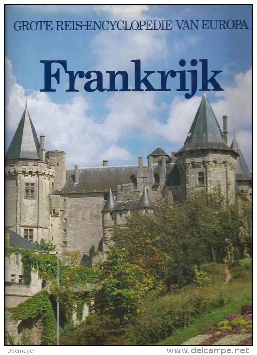 Frankrijk - Grote Reis-encyclopedie Van Europa 1985 208blz Ed Lekturama - Encyclopedieën