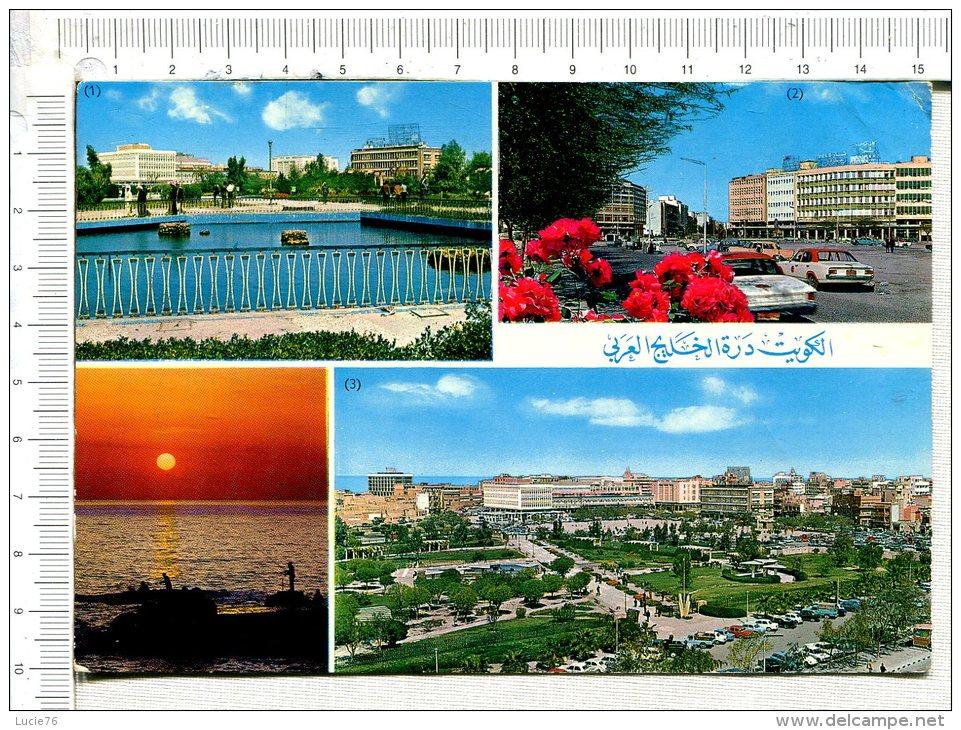KUWAIT  - 4 Vues  :  Municipal Parks, Ahmad Al Jaber Street, Areal View Of The Municipal Parks - Koweït