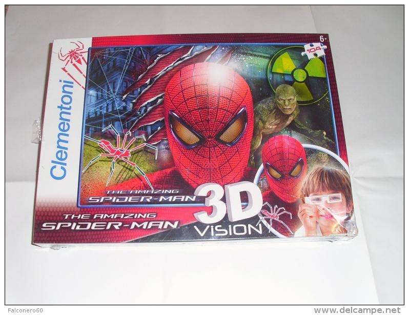 Clementoni -  SPIDER - MAN  3D Vision - Puzzles