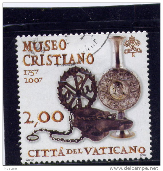 Vatican, 2006, USED SCOTT # 1353,  MUSEO CRISTIANO 250 TH.   Used - Vatican