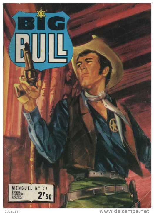 BIG BULL N° 61 BE IMPERIA 12-1977 - Petit Format