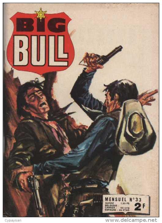 BIG BULL N° 33 BE IMPERIA 07-1975 - Small Size