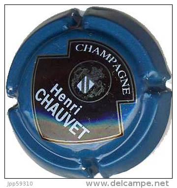 Plaque De Muselet Champagne Henri CHAUVET * - Non Classés