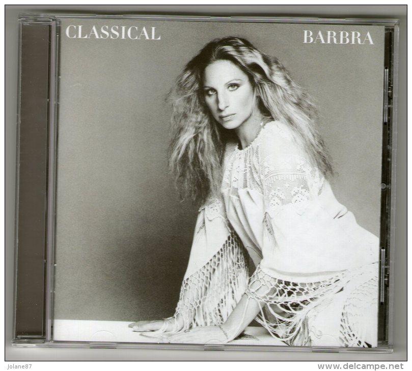 CD     BARBRA STREISAND        CLASSICAL        DEBUSSY CANTELOUBE FAURE HANDEL SCHUMANN - Musik & Instrumente