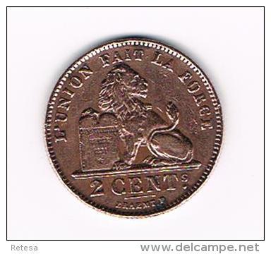 00 ALBERT I  - 2 CENTIEM 1919 FR - 02. 2 Centimes