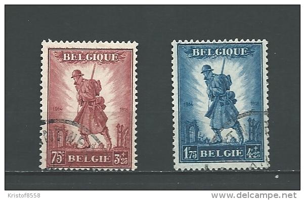 # Zegels 351 - 352 Gestempeld - Used Stamps