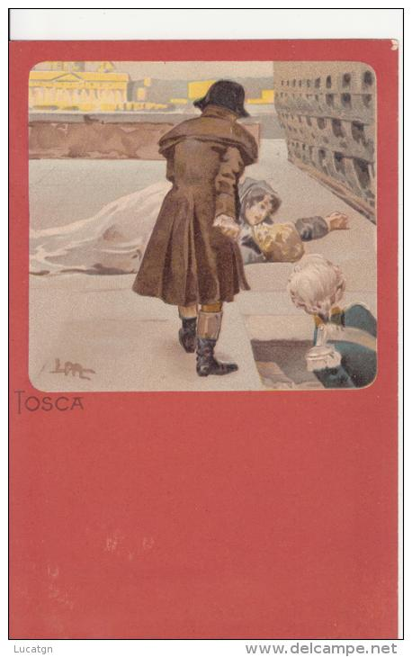 "Illustratore Metlicovitz ""Tosca"" - Illustrateurs & Photographes"