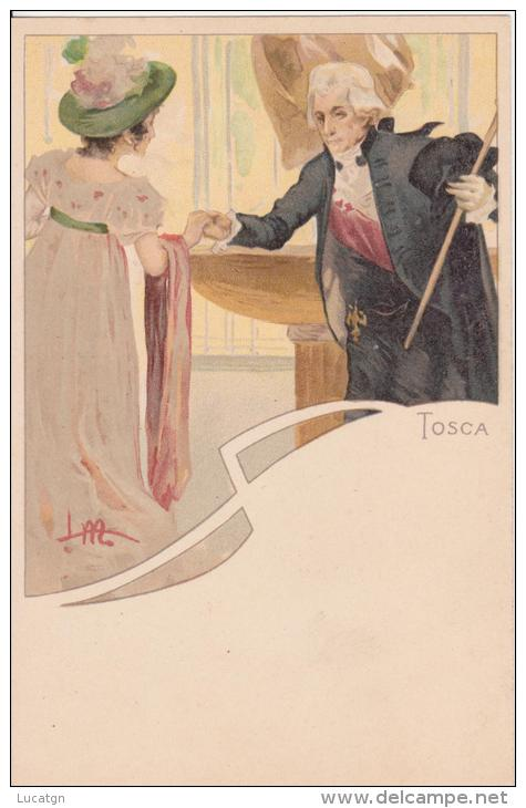 "Illustratore Metlicovitz ""Tosca"" - Non Classés"