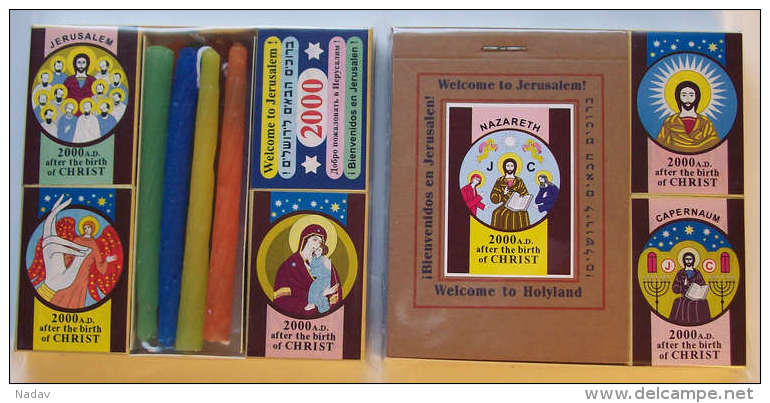 Collection Of Jesus Christ Matchboxes, #0203 - Religion & Esotericism