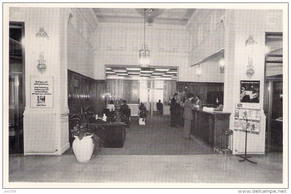PHOTO   Intérieur De La Banque CCF à EPINAL (devenue HSBC) - Beroepen