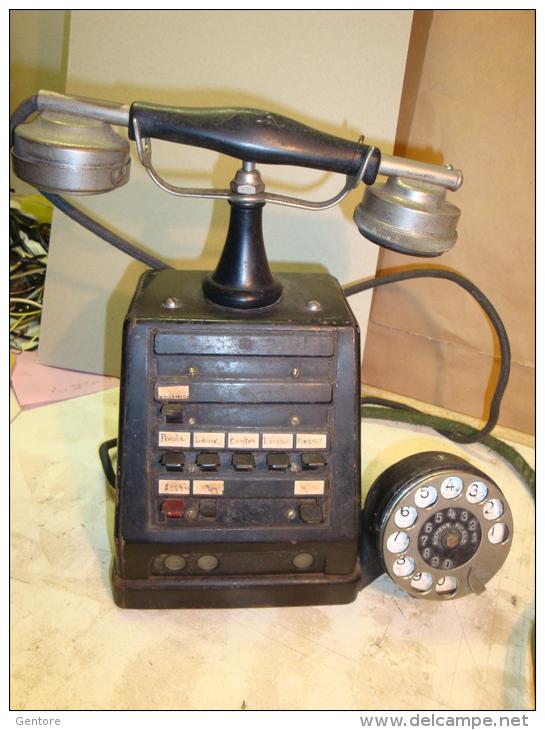 ANTIQUE TELEPHONE APPARATUS MADE BY AKTIESELSKAPET ELEKTRISK BUREAU - Telephony
