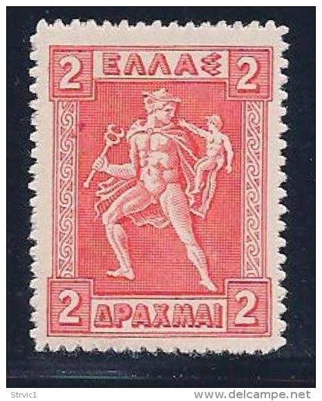 Greece, Scott # 227 Mint Hinged Hermes, 1919 - Greece