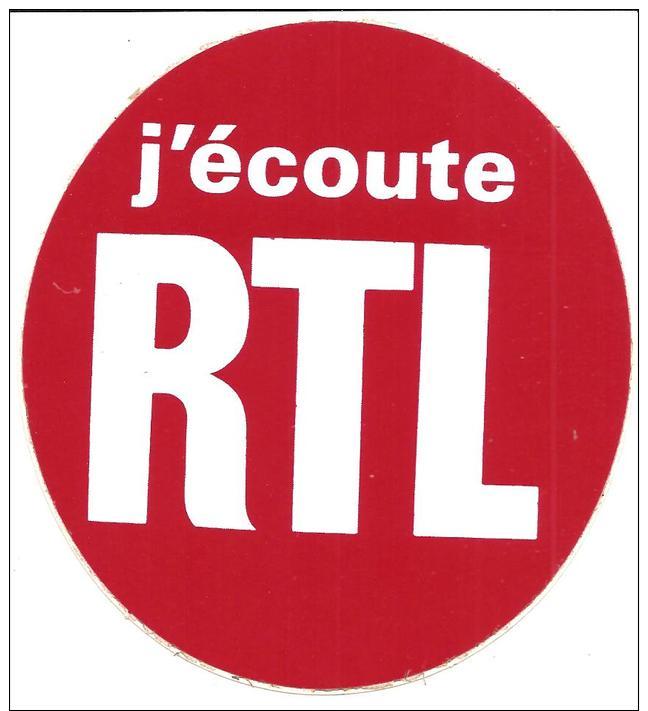 J'écoute RTL - Autocollants