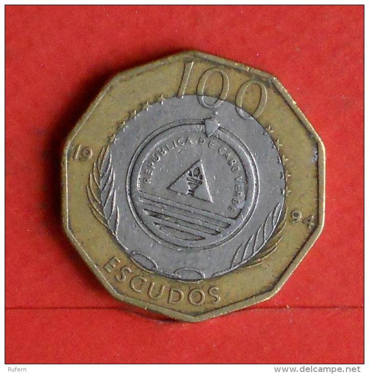 CAPE VERDE  100  ESCUDOS  1994   KM# 38a  -    (Nº04531) - Cap Vert