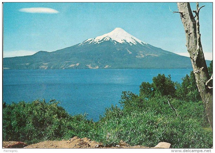 CPA-1950-CHILI-VOLCAN OSORNO-LAGO LLANQUIHUE-SUR DE CHILE-TBE - Chili