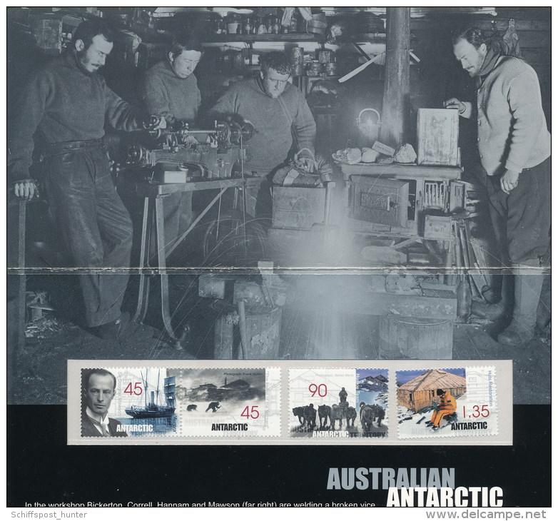 ANTARCTIC, AAT , Presentation Pack, Michel-No. 119/22 MNH, Look Scans !! - Antarctische Expedities