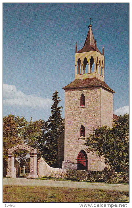 Old St. Andrew's Anglican Church, St. Andrews, Manitoba, Canada, 40´s-60´s - Manitoba