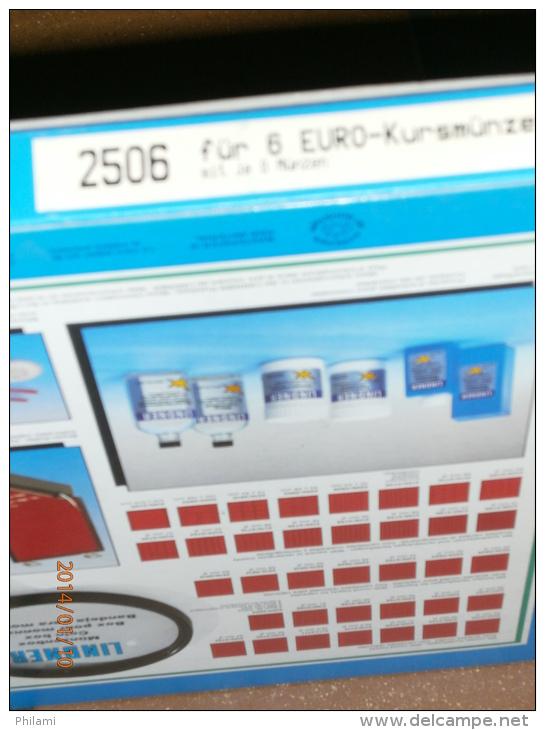 LINDNER PLATEAU REF: 2506 POUR 6 SERIES EUROS. - Matériel