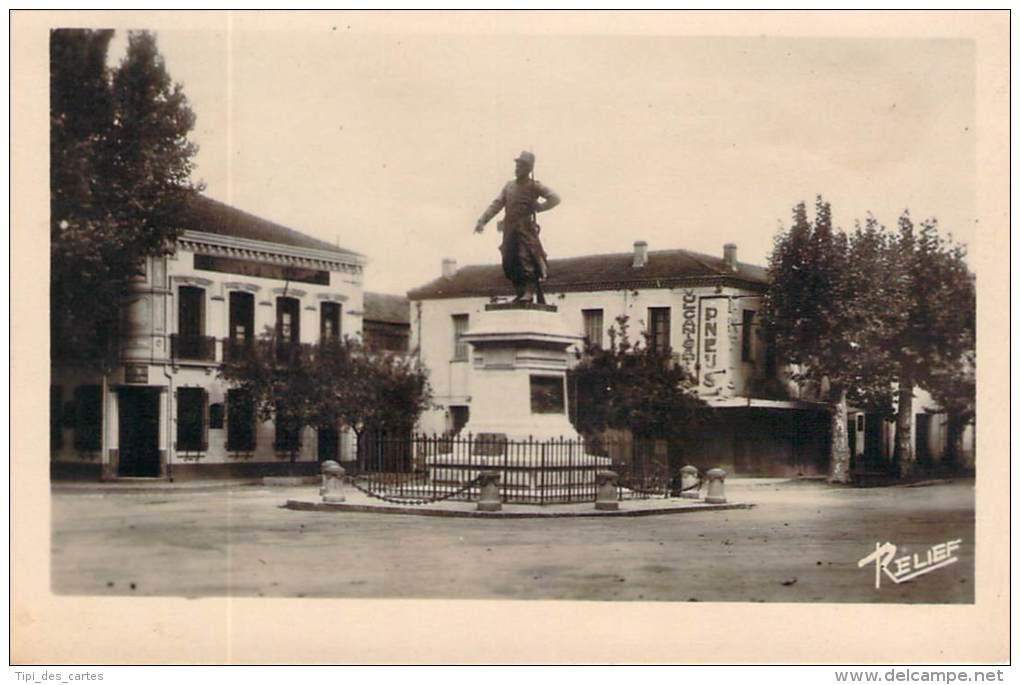 Boufarik - Statue Du Sergent Blandan - Algérie
