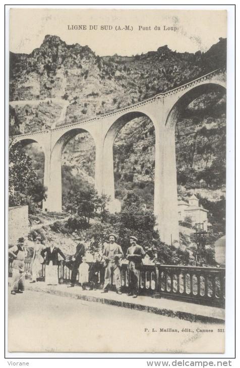 Ligne Du Sud - Pont Du Loup - France