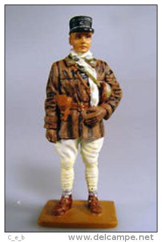 Soldadito De Plomo. Capitán De Tanques. Francia. Gobierno De Vichy. 1939. Escala 1:30, Del Prado. 2ª Guerra Mundial. 191 - Militares