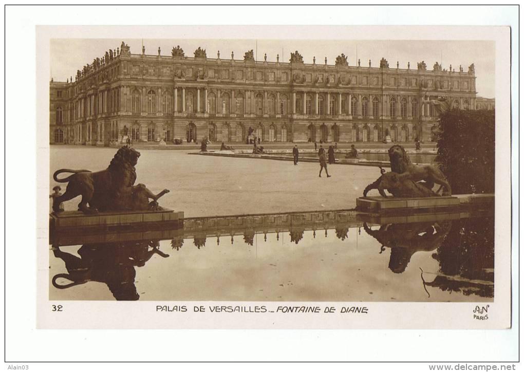 CPA - 78 - PALAIS De VERSAILLES - Fontaine De Diane - AN 41 (Noyer) - Versailles (Château)