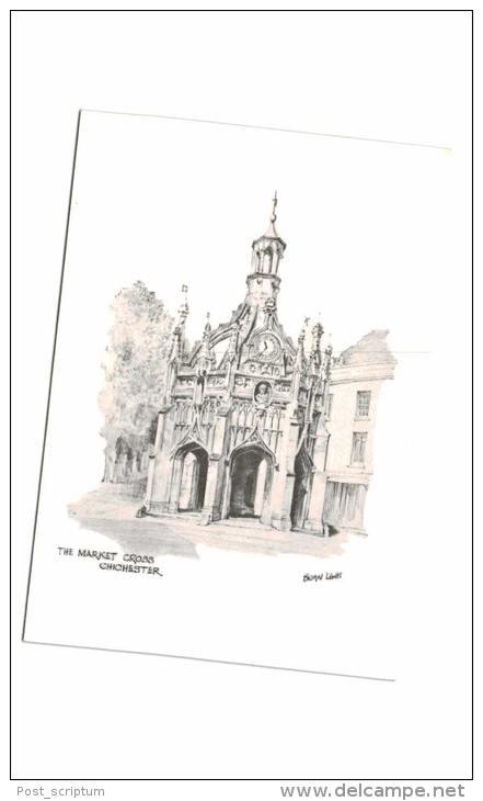 Royaume Uni - Angleterre - Chichester - The Market Cross - Chichester