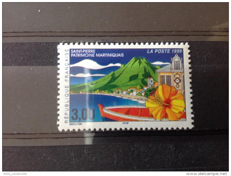 Frankrijk - Postfris, Culturele Erfenis Op Martinique 1999 - France