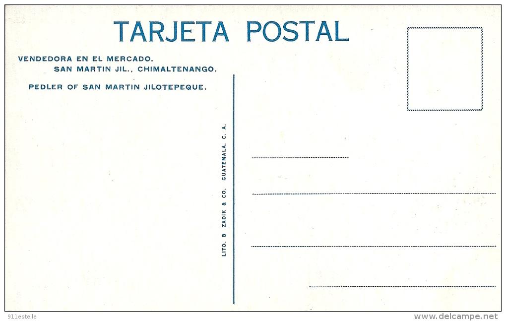 Guatemala  -      VENDEDORA En El   MERCADO - Guatemala