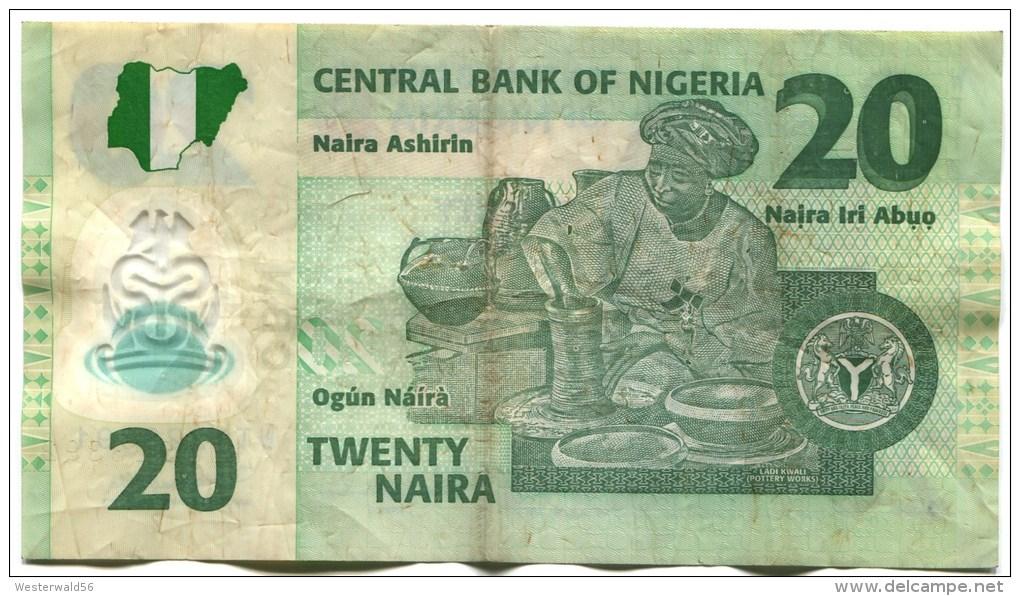 Nigeria Banknote Von 2011, 20 Naira - Nigeria