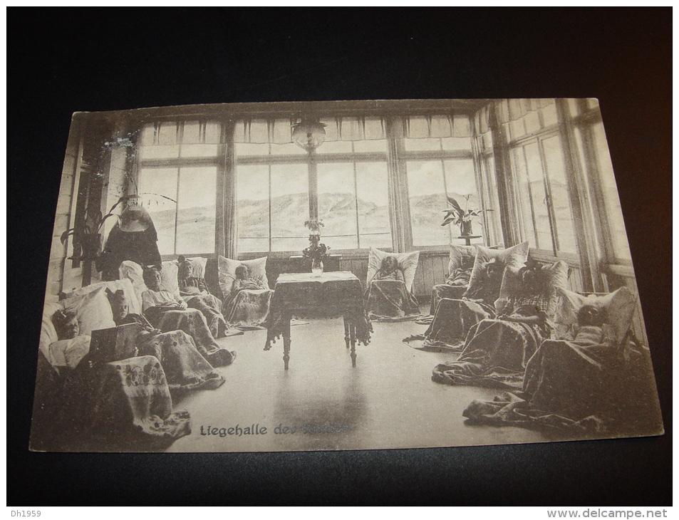 NORDSEEBAD BORKUM KINDERHEIM 1927 LIEGEHALLE DER KINDER ENFANTS CHILDREN - Borkum