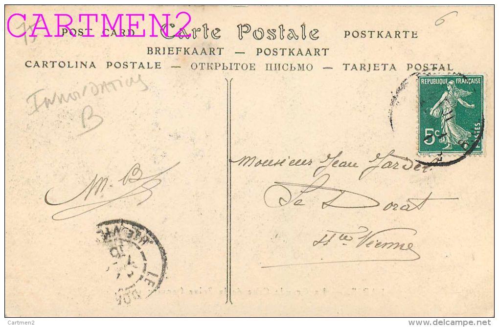 PARIS CRUE DE LA SEINE 1910 RUE JACOB ET BONAPARTE PAVES DE BOIS SOULEVES PAR L' INONDATION 75006 - Arrondissement: 06
